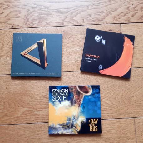 3x CD: Adam Jarzmik i Szymon Klekowicki